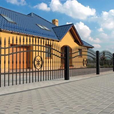 Ogrodzenia frontowe - Hurtownia Ogrodzeniowa