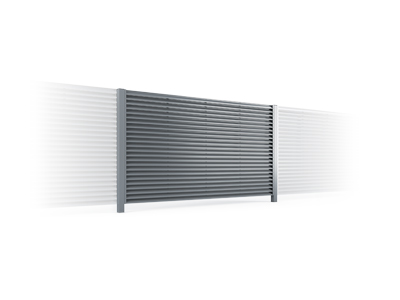 Shutter fences - TOP FENCE